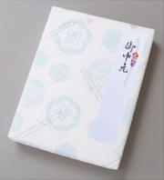 包装紙ブルー