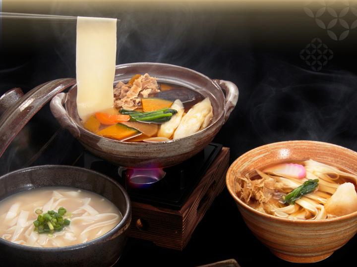 三冬麺 麺とつゆのいろいろな組み合わせ1