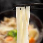 最高級花山ひも川の麺